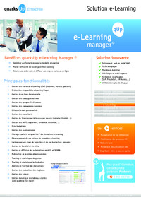 E-Learning Manager