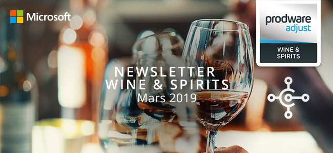 Newsletter Wine & Spirits - Mars 2019